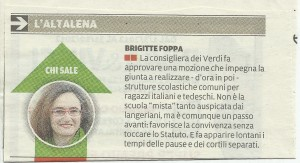 Brigitte Foppa Altalena