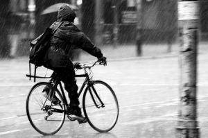 bici pioggia