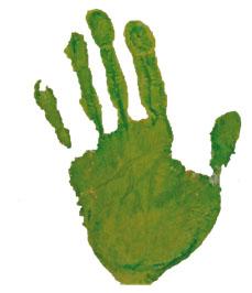 gruene hand klein copy