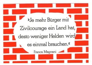 Zivilcourage Magnani